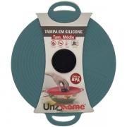 Tampa de Silicone Grande 28CM para Cozinhar Cinza Unyhome SU191334