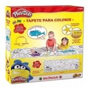 Tapete Bilingue e Apagador para Colorir PLAY-DOH FUN 8005-8 F0030-8