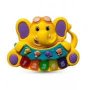 Tecladinho Musical Animal Amarelo Zoop TOYS ZP00312
