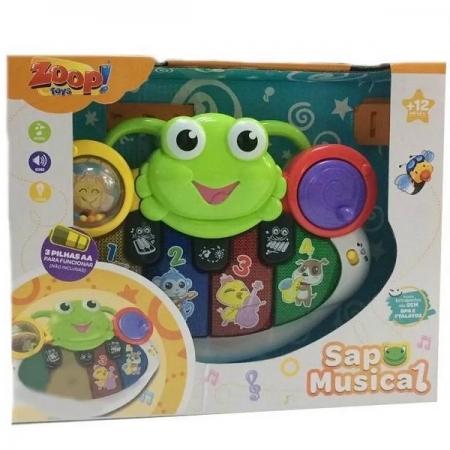Teclado Sapo Musical Zoop TOYS ZP00660