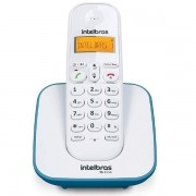 Telefone sem Fio Intelbras TS3110 com ID Branco e AZUL Escuro 4123151