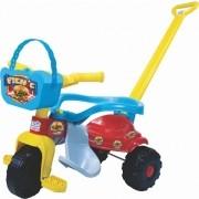 Triciclo TICO-TICO PIC-NIC AZUL com ARO Magic TOYS 2565