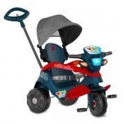 Triciclo Velobaby Reclinavel com Capota Passeio e Pedal Bandeirante 337
