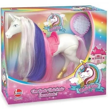 Unicornio Encantado Branco Lider 2731