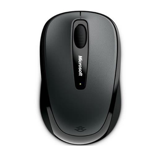 Mouse Microsoft Wireless 3500 Preto - Alcance 9 MTS - GMF-00380