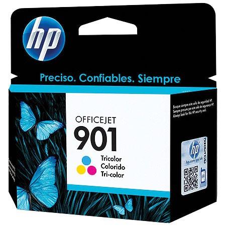 Cartucho HP 901 Officejet Jato de Tinta Tricolor 13ML CC656AB