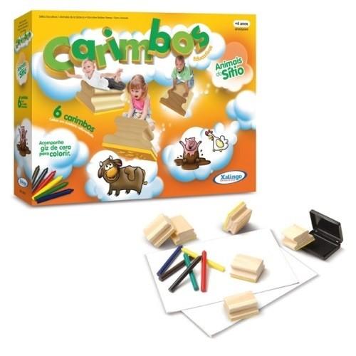 Carimbos Educativos Animais do Sitio Xalingo 5078.7