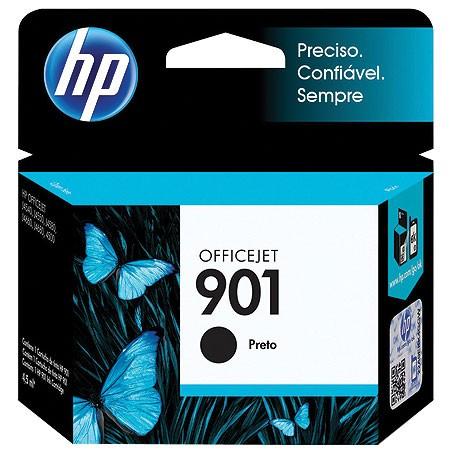 Cartucho HP 901 Preto 4,5ML CC653AB