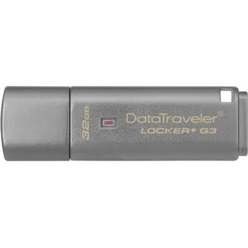 Pen Drive Kingston 32GB USB Data Traveler LOCKER+G3  DTLPG3/32GB