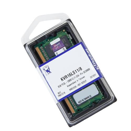 Memoria Notebook 8GB DDR3L Kingston KVR16LS11/8 1600MHZ LOW Voltage 1.35V