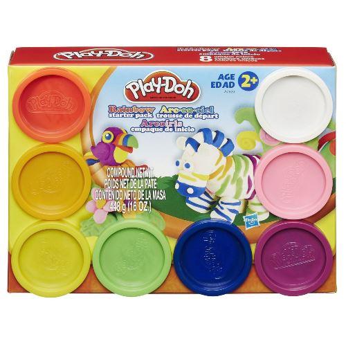 Play DOH PACK 8 Potes Hasbro A7923 10591