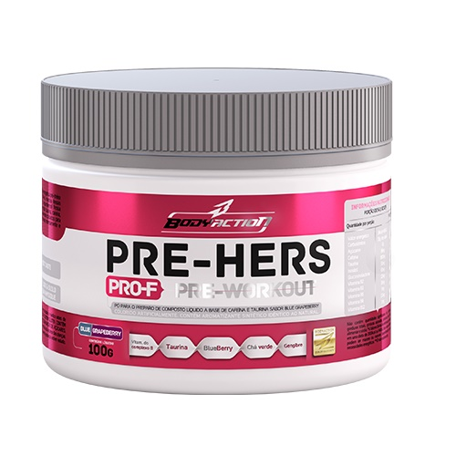 Pre HERS 100G Guarana Fruit PUNCH - BODY Action 4030011
