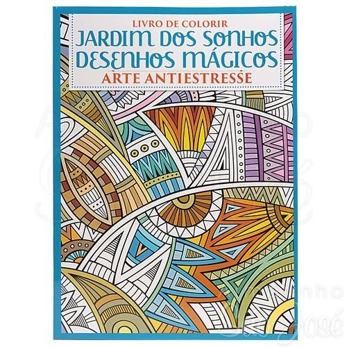 Livro de Colorir Jardim dos Sonhos Desenhos Magicos Ciranda 8794 057858