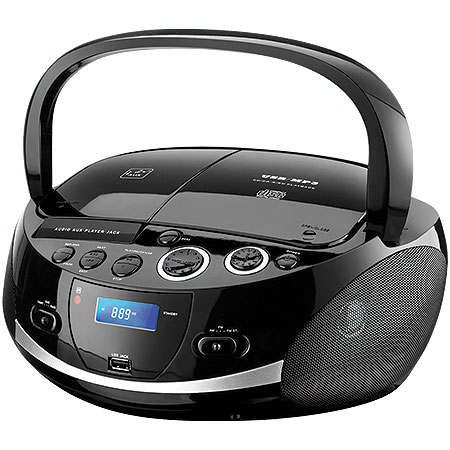 Radio Portatil Boombox Multilaser SP157 20W USB SD FM CD DOCK Station