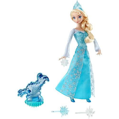 Boneca Disney Frozen Princesa ELSA em Açao Mattel CGH15