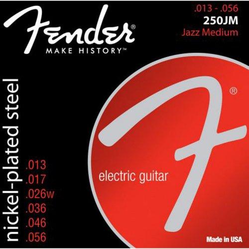 Encordoamento para Guitarra ACO 0.13 250JM Niquelado Fender