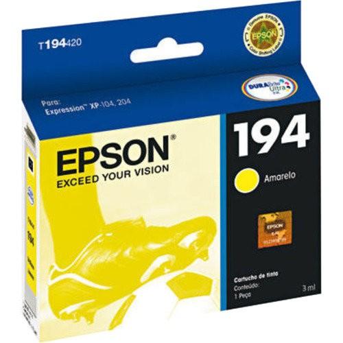 Cartucho EPSON P/ XP-104/204/214 Amarelo - T194420-BR