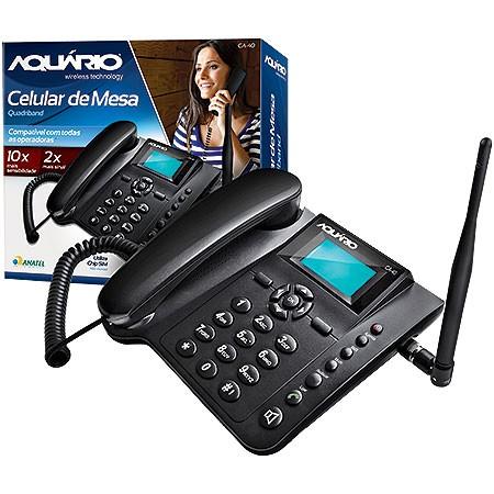 Telefone Celular Rural de Mesa Aquario CA-403G