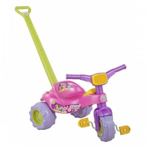 Triciclo TICO-TICO BABY Monster Rosa com Som Magic TOYS 2239
