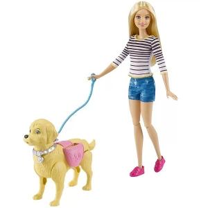 Barbie Familia Passeio com o Cachorrinho Mattel DWJ68