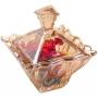 Bomboniere de Cristal com Tampa Safir AMBAR WOLFF 26051