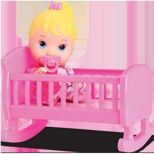 Boneca BABY Little DOLLS Bercinho Divertoys 8010