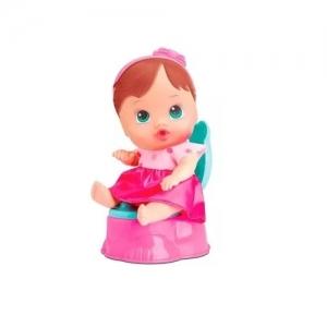 Boneca Little DOLLS FAZ Xixi Morena Divertoys 8002