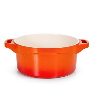 Caçarola LE Cook 24CM Laranja com Revestimento Ceramico LC1803