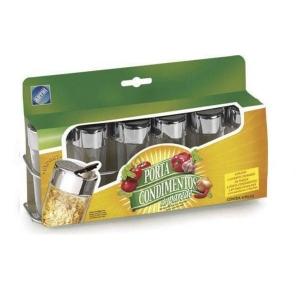 Conjunto com 6 Porta Condimentos Parede ARTHI 5306