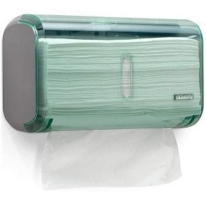Dispenser Toalheiro URBAN Compacta GLASS Verde Premisse C19821