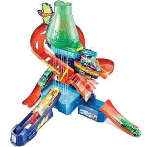 Hot Wheels Color Estaçao com Cientifica Mattel CCP76