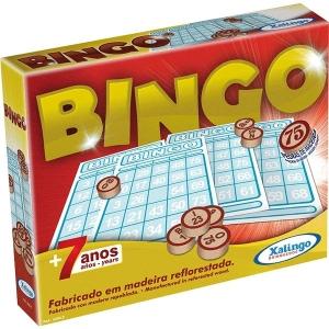 Jogo Bingo Pedras de Madeira Xalingo 5290.9