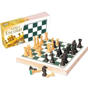 Jogo Xadrez Escolar Xalingo 6001.0