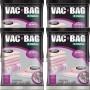 Kit com 4 Sacos a Vacuo VAC BAB 100X110 Ordene Jumbo