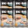 Kit com 4 Sacos À Vácuo VAC BAG Ordene Grande 55X90 Protetor Roupas