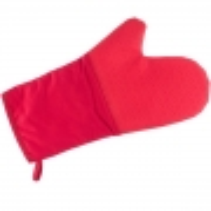 Luva de Silicone e Algodao Vermelho 35CM WECK 5098
