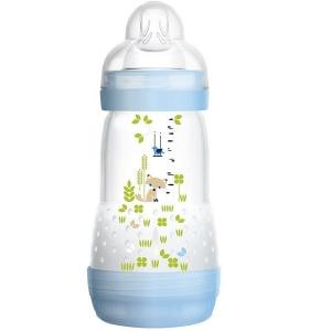 Mamadeira FIRST Bottle 260ML BOYS AZUL (0M+) 4663 - MAM