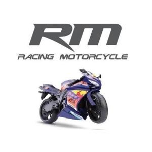 Moto Racing Motorcycle 34,5CM AZUL Escuro Roma 0905