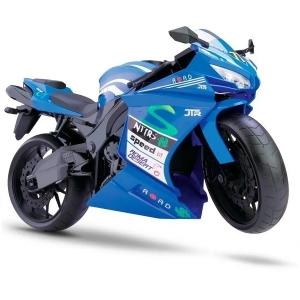Moto Racing Motorcycle 34,5CM AZUL Roma 0905