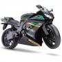 Moto Racing Motorcycle 34,5CM Preto Roma 0905