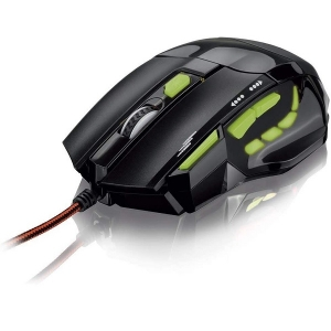 Mouse Otico com LED USB Gamer 2400 DPI Multilaser MO208