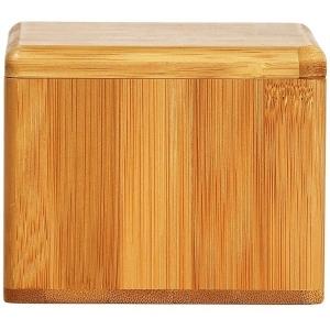 Saleiro em Bambu com Tampa Giratoria  WELF TE-00203
