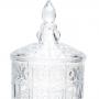 Suqueira de Cristal para Bebidas com PE STARRY 4 Litros WOLFF 26368