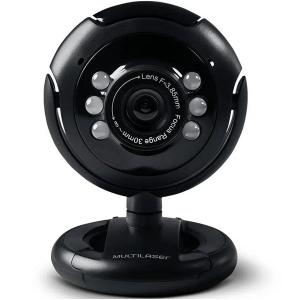 Webcam NIGHT Vision Multilaser WC045 16MP Interpolado
