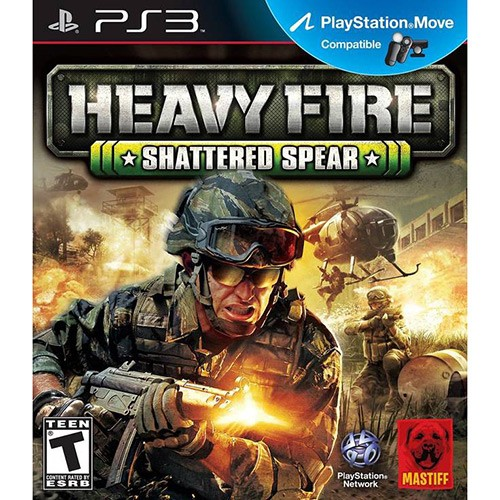 Jogo PS3 Heavy Fire: Shattered Spear