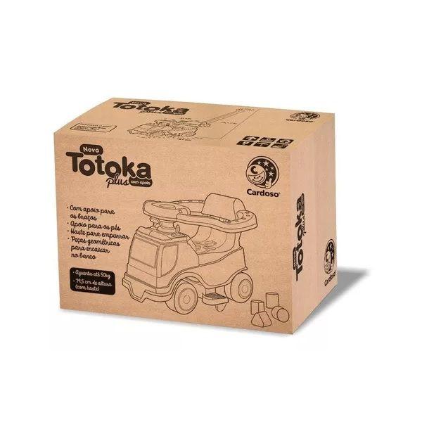 Andador Totoka PLUS Menina Cardoso TOYS 6001