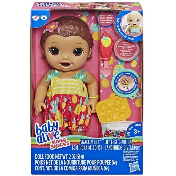Baby Alive Lanchinhos Divertidos Morena Hasbro 13741 E5842