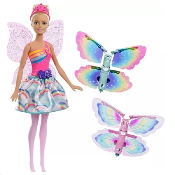 Barbie Dreamtopia Fada ASAS Voadoras Mattel FRB07/FRB08