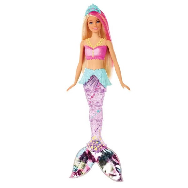 Barbie Dreamtopia Sereia com Luzes Mattel GFL82