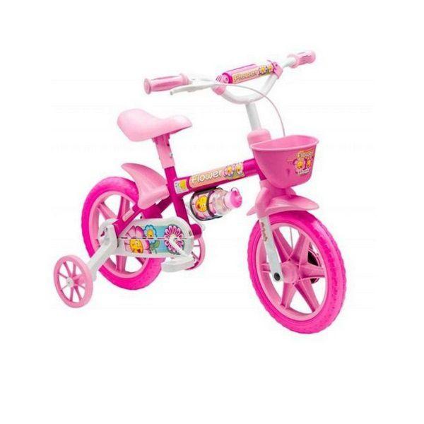 Bicicleta ARO 12 Flower Rosa Stone Bike 229